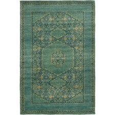 Haven Teal Area Rug