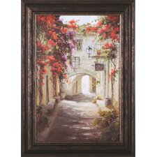'Bougainvillea' by Steven Harvey Framed Painting Print