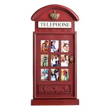 Kellogg Phone Booth Wall Mount Picture Frame