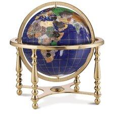 quick view compass jewel gemstone globe - Decorative Globe