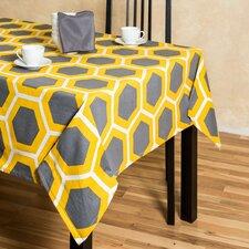 Honeycomb Rectangular Cotton Tablecloth