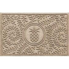 Aqua Shield Boxwood Pineapple Doormat
