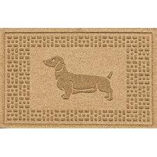 Conway Dachshund Doormat