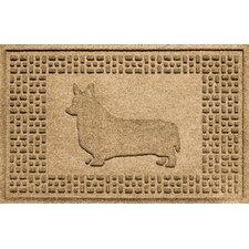 Aqua Shield Corgi Doormat