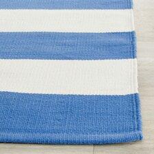 Teppich blau weiß gestreift  Wohnteppiche: Farbe - Weiß | Wayfair.de