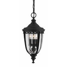 English Bridle 3 Light Outdoor Hanging Lantern