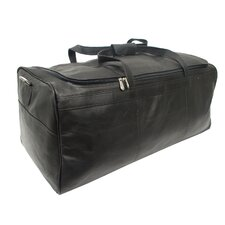 """Traveler's Select 25"""" Leather Travel Duffel"""