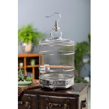 """Pet Lotus 28.5"""" Bird Cage with Removable Tray"""