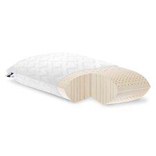 Zoned Low Loft Plush Talalay Latex Pillow