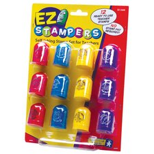 EZ Stampers Self - Inking Teacher Stamp Set