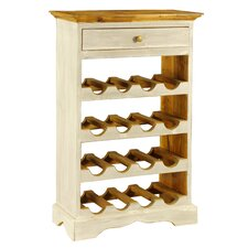 Auburn 16 Bottle Floor Wine Rack