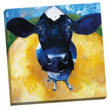 Cow Tale by Sean Parnell Painting Print on Wrapped Canvas