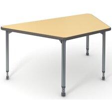 "A&D 60"" x 30"" Trapazoidal Activity Table"