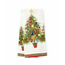 Christmas Tree Printed Kitchen Towel