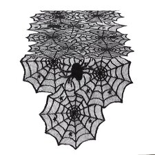 Claudia Spider Web Lace Table Runner