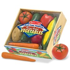 7 Piece Play-Time Veggies Set