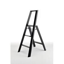3-Step Aluminum/Steel Step Stool with 250 lb. Load Capacity