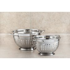 Stainless Steel Slotted Colander