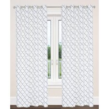 Brighton Trellis Geometric Grommet Panel Pair (Set of 2)