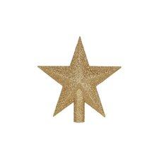 Glitter Star Tree Topper