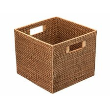 Square Rattan Storage Basket