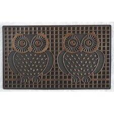 Pin Twin Owls Doormat