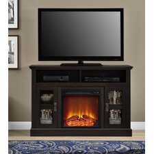 "Rosier 47"" TV Stand with Electric Fireplace"