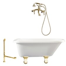 Brighton Roll Top Soaking Bathtub