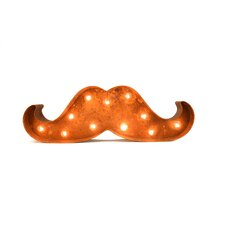 Iconics Moustache Marquee Sign Marquee Sign