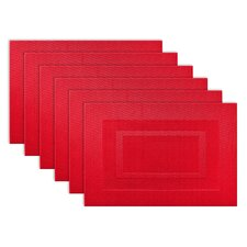PVC Doubleframe Placemat (Set of 6)