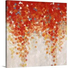 'Bubble Gum Ball' by Sydney Edmunds Painting Print on Canvas