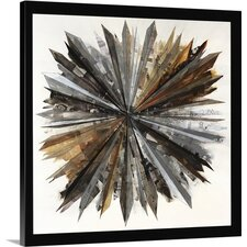 'Rising Sun and Shine' by Sydney Edmunds Framed Graphic Art