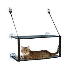 Kitty Sill Double Stack Ez Window Mount Cat Perch