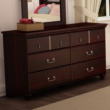 Noble 6 Drawer Dresser