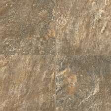 """Alterna Reserve 16"""" x 16"""" Engineered Stone Field Tile in Brown/Gray"""