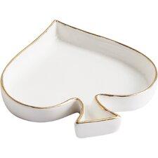 Novelty Spade Porcelain Vanity