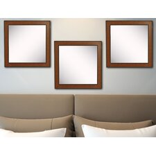 Ava Western Rope Wall Mirror (Set of 3)