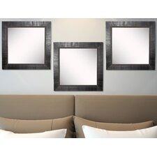 Ava Tuscan Ebony Wall Mirror (Set of 3)