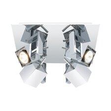 Dierdre 4-Light Semi Flush Mount