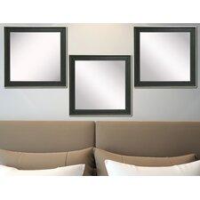 Ava Vintage Black Mirror (Set of 3)