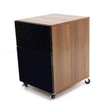 Abbot Designer 2-Drawer Mobile Vertical Filing Cabinet
