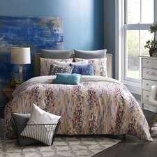 Mexico City Bellas Artes 3 Piece Reversible Duvet Cover Set