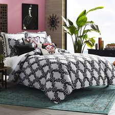 Mexico City Zocalo 3 Piece Duvet Cover Set