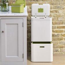 IntelligentWaste™ Totem 15.8 Gallon Multi Compartments Recycling Bin