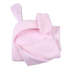 Honeycomb Hooded Ear Blanket