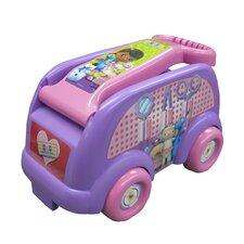 Disney Doc McStuffins Medical Mobile Roll N Go Wagon Ride-On