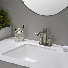 Elavo™ Square Undermount Bathroom Sink with Overflow