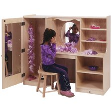 Vanity Closet with Mirror