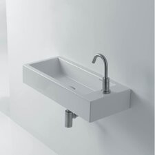 "Hox Ceramic 19.7"" Wall mount Bathroom Sink"