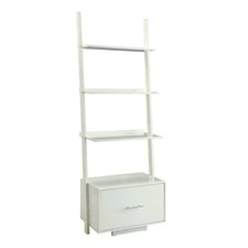 "Meghan 69"" Leaning Bookcase"